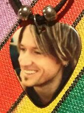KEITH URBAN Guitar Pick Necklace Music Country Singer (C)