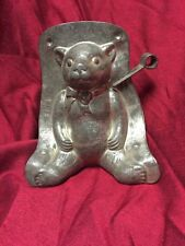 Sitting Teddy Bear Christmas Tin Chocolate Mould ~ #13015 ~CH354