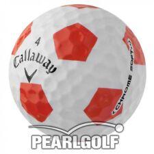 12 Callaway Chrome Soft truvis Balles De Golf AAAA-LAKEBALLS SANS MARQUAGE