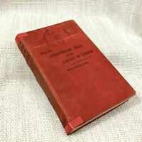 1929 Antique Pocket Atlas County of London City Street Plan Guide Phillips Old