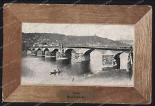 Trier-Mosel-Brücke-Feldpost-1916-Trier 1 P.K-Rheinland-Pfalz