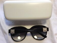 Chloe France Black Sunglasses 2233 a -135 58 18 With Case