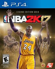 NBA 2K17 - Legend Gold Edition PlayStation 4 New Ps4 Games Sony Sealed 2K 2017