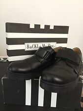 Buckle My Shoe Russell Boys Black Leather Casual/Dress School Shoes SIZE 40NEW!