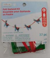Creatology Christmas Felt Garland Kit Fa La La La Llama New