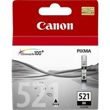 Canon CLI-521BK Ink Cartridge - Black, 9ml (Yield 1250 Pages)