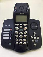 Siemens Gigaset E150 Dect Telefon Jumbotasten Senieoren Tel Dunkelblau E1 / E150