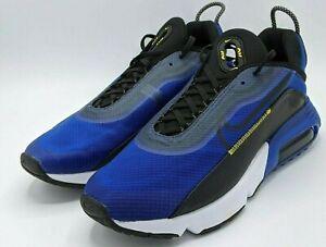 Nike Air Max 2090 Mens Size 11.5 Hyper Blue Black White Shoes CV8835-400 No Lid