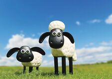 Primus in metallo Shaun the Sheep e Timmy la Pecora Decorazione Giardino Set Regalo Idea