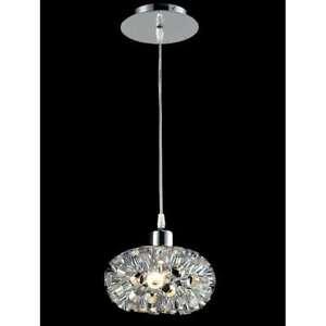 Classic Lighting Laguna Contemporary Pendant, Chrome - 16151CH