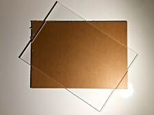 Clear Acrylic Perspex Plastic A4 Sheet 297 x 210 x 3 mm