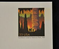 Lot of 5 Unused 23 cent Postal Cards -Carlsbad Caverns National Park Scott UX321