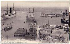 Postkarte  Schiffsmotiv  Alger   L Entree du Port      -52