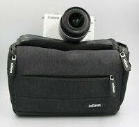 Kamera Canon EOS M10 Mirrorless Digital + Ziel 15-45 Is Stm Weiß
