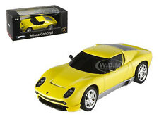 Lamborghini Miura Concept Yellow Elite Edition 1/43 By Hotwheels P4882