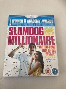 Slumdog Millionaire (Blu-ray, 2009) Used