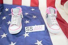 Schuhe Converse N.40 (cod. SS1222) Frau Sweatshirt hoch gebraucht grau