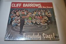 Cliff Barrows and the Gang (W-3387-LP) Everybody Sings!  1966, LP
