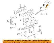 GM OEM Fuel System-Filler Pipe 25965858