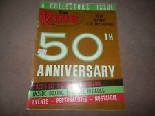 The Ring Magazine June 1972 50th Anniversary Issue