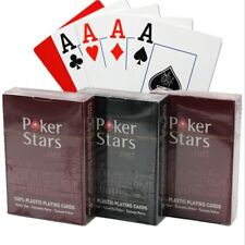 Plastic playing cards waterproof playing poker card pack