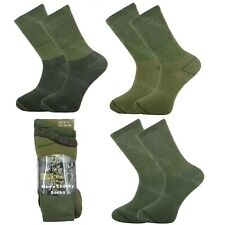 Mens Military Socks 3 Pairs Army Thermal Hiking Boots Walking Combat warm 6-11