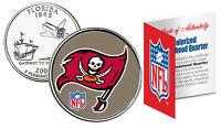 TAMPA BAY BUCCANEERS NFL Florida US Statehood Quarter Colorized Coin *Licensed*