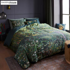 Van Gogh Trees Green Cotton Sateen Quilt Cover Set by Bedding House