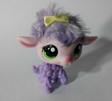 Littlest Pet Shop - Sheep Fuzzy Purple Cute Figure Child Toy PS715