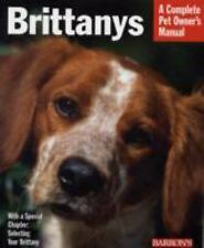 Complete Pet Owner's Manual Brittanys Everything History Purchase Care Barron's