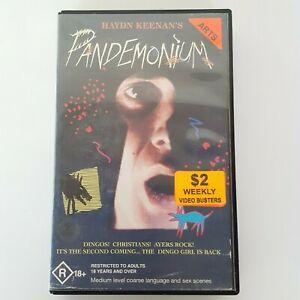 Hayden Keenans PANDEMONIUM 1987 VHS Pal 21st Century Ex-Rental Australian Film