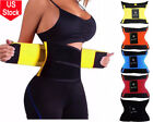 Women Waist Trainer Body Shaper Slimmer Sweat Belt Tummy Control Underbust Band