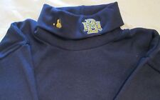 MLB Milwaukee Brewers Long Sleeve Turtle Neck T-Shirt Small Embroidery logo