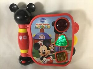 Disney Mickey Mouse Club House Interactive Electronic Bilingual Learning Book