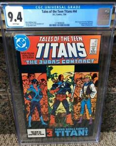 Tales of the Teen Titans #44 CGC 9.4