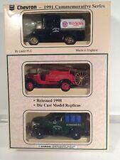 Lledo Chevron 1991 Commemorative Series Trucks NIB Made England Liedo Rare Set 3