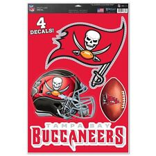 TAMPA BAY BUCCANEERS MACBOOK LAPTOP MULTI USE REMOVABLE REUSABLE DECALS NEW