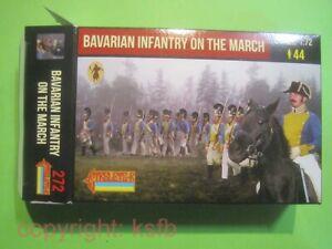 1:72 Strelets #272 Napoleon Bayern Infanterie marschierend Bavarian Army march