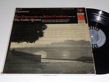 CHAUSSON VG++ Francescatti Casadesus Guilet Quartet ML-4998 Columbia Mono album