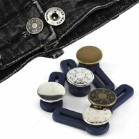 5Pcs Jeans Retractable Button Pants Adjustable Detachable Extended Button Lot yu