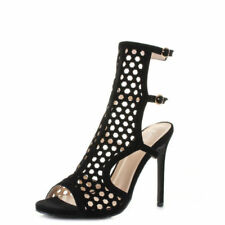 Buckle Stilettos Party Heels for Women