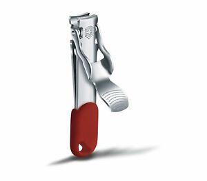 Victorinox Nagelknipser - Nail Clipper Red - perfekt für unterwegs Nagelklipser