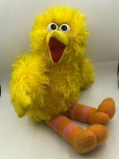 Sesame Street Big Bird Muppets Kidz Biz Toys Plush Soft Stuffed Toy Animal Doll
