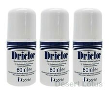 Driclor Antiperspirant 60ml Roll on Stops Sweating