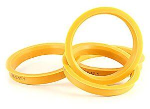 Alloy Wheel Hub Centric Spigot Rings 72.6 - 65.1 Wheel Spacer Set of 4