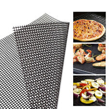 BBQ Grill Mesh Non-Stick Cooking Mats Sheet Liner Reusable Grill Accessories AM3
