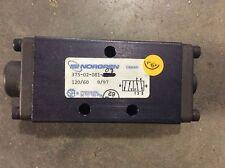 Norgren 375-02-081-03 Pneumatic ISI Fluid Valve 120/60