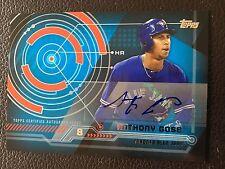 2014 Topps Trajectory Autographs TA-AGO Anthony Gose Toronto Blue Jays Baseball