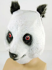 Pleine en caoutchouc Latex Animal Panda masque ours Safari Costume Halloween Grizzly