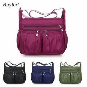 Women Shoulder Fashion Bags Waterproof Handbags Crossbody Large Capacity Bag